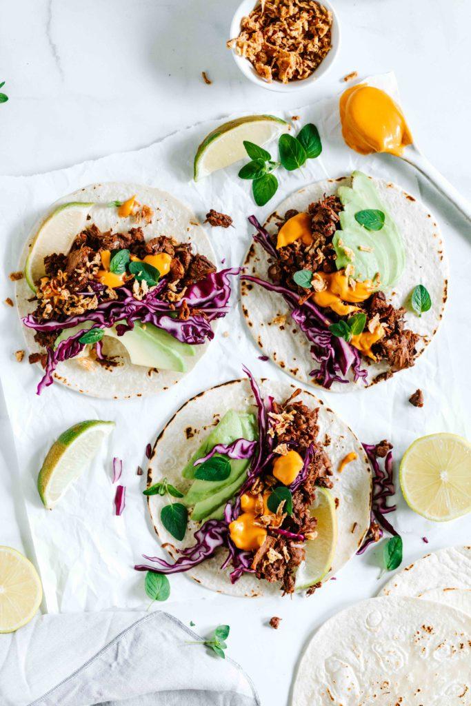 jackfruit tacos keimling vitamix