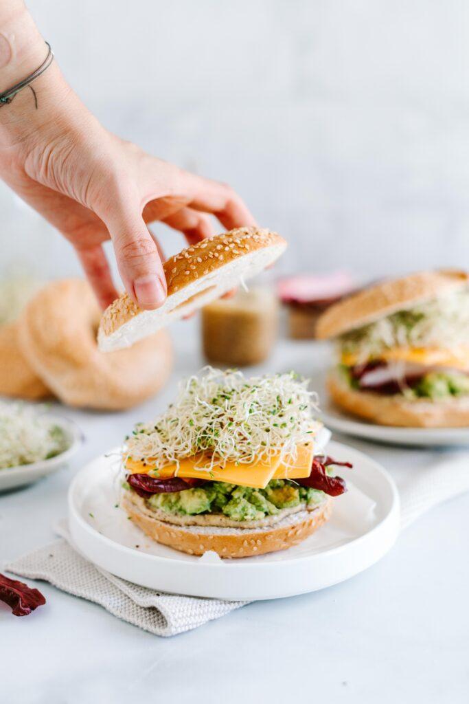 avocado bagel rezept vegan schnabula rasa